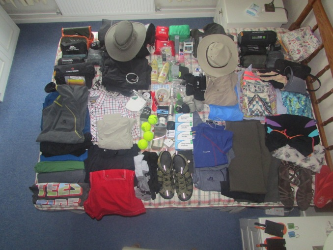 A few items to pack!