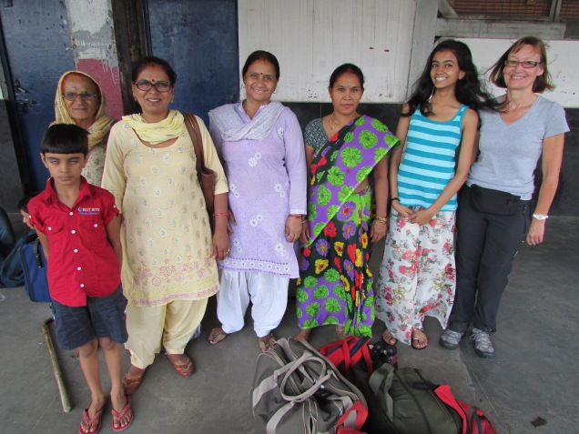 A great highlight for us - meeting Garima and her family