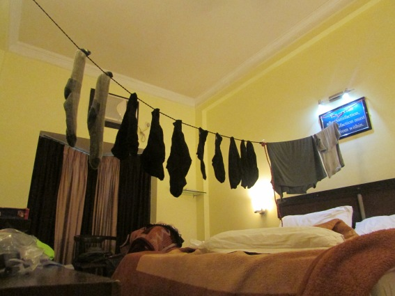 Amritsar bedroom becomes Chinese laundry