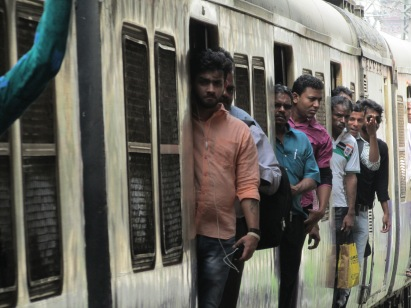 Who dares wins, Indian commuters taking their lives in their hands