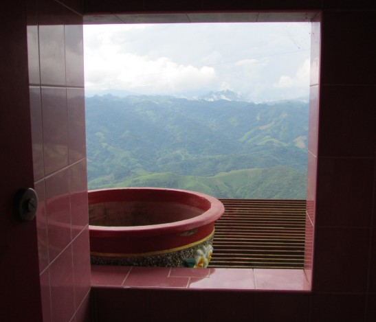 Loo with a view
