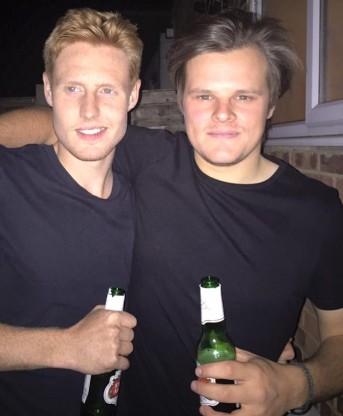 Lads (Joe right –Jack left)