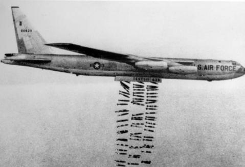 B-52 over Laos