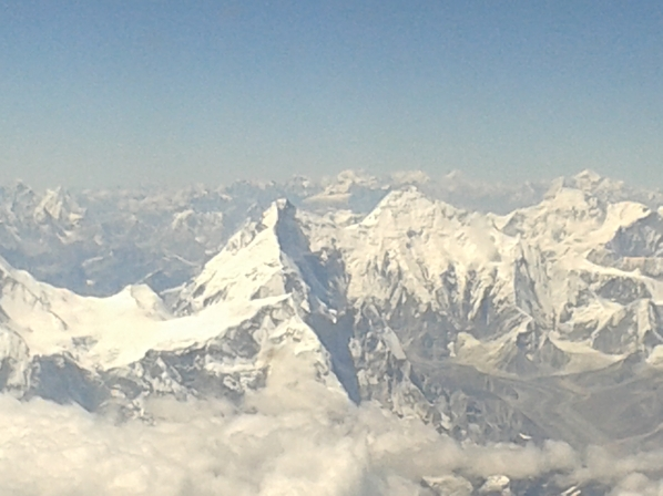"Everest, as rarely seen from the ""Chinese side"""