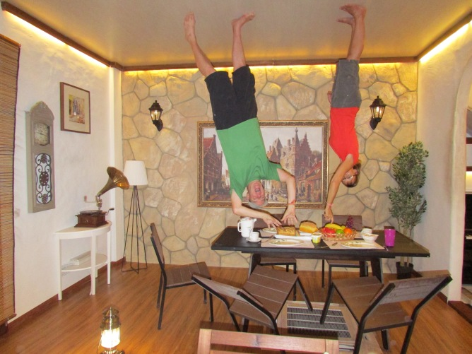 Turning our World upside down