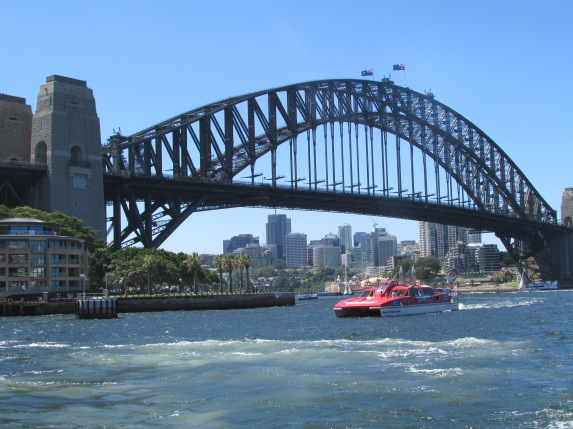 We loved using the ferry from Drummoyne to travel in to Circular Quay