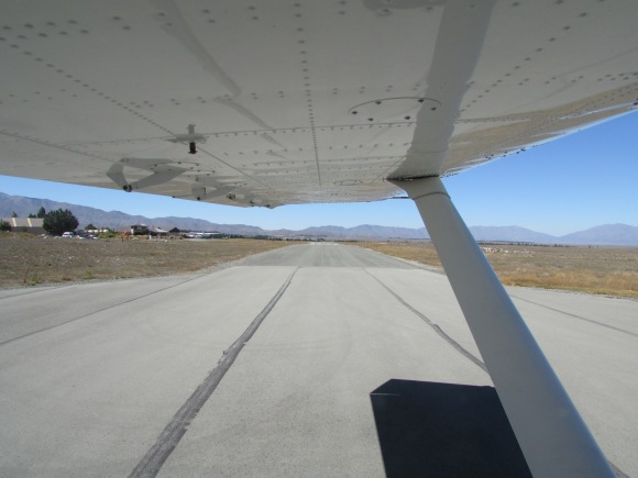 No turning back. The landing strip at Lake Tekapo resembles a 'B' Road on the outskirts of Frimley