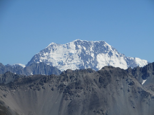 And then for the first time we saw Mount Cook about 25 miles away