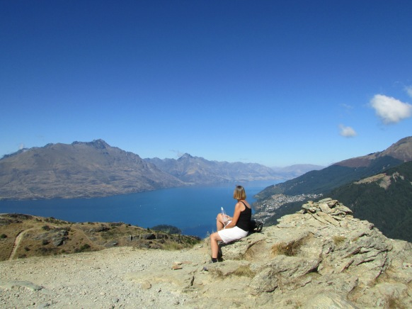 Great view over Queenstown