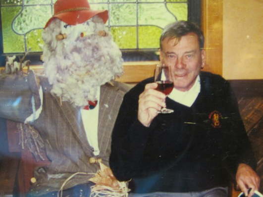Even Dickie Bird liked a glass or three