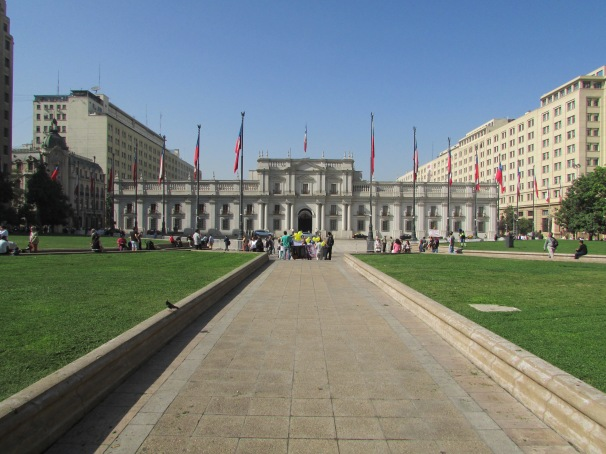 Presidential Palace, the scene of the coup in 9/11/1973