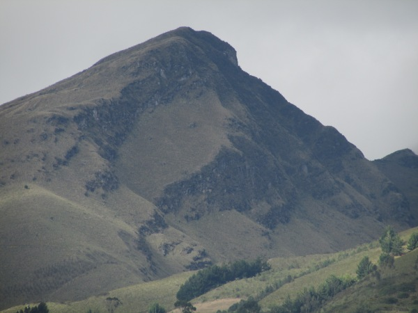 Mount Imbabura - 4,600m high