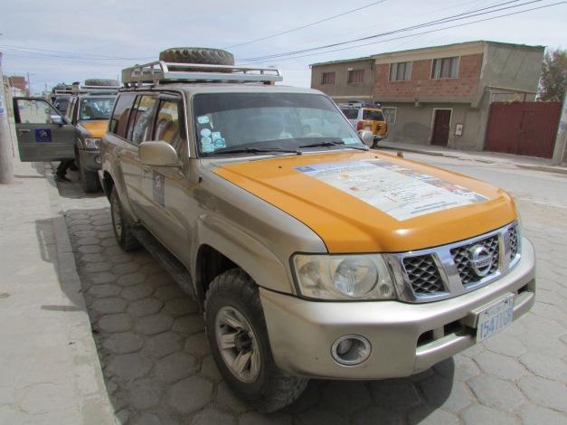 Lead vehicle